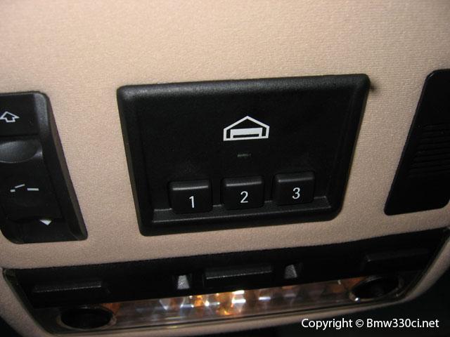 Wtb homelink bmw universal transmitter e46fanatics - Homelink universal garage door opener ...